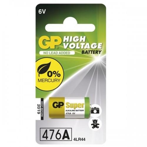 Baterie alkalická GP 4LR44, 476AF, blistr 1ks