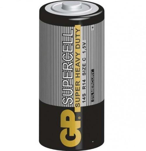 Baterie GP Supercell C, R14, fólie 2ks