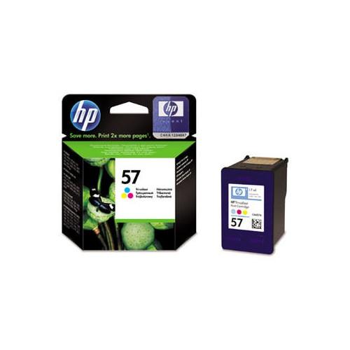 Inkoustová náplň HP No. 57 CMY, 500 stran, originální