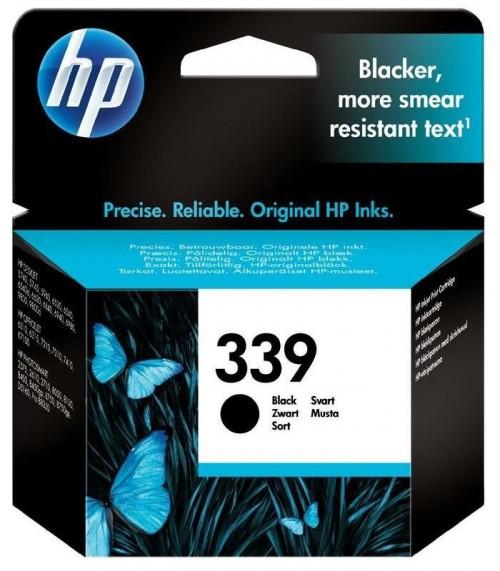 Inkoustová náplň HP No. 339, 21ml, 860 stran, originální - černá