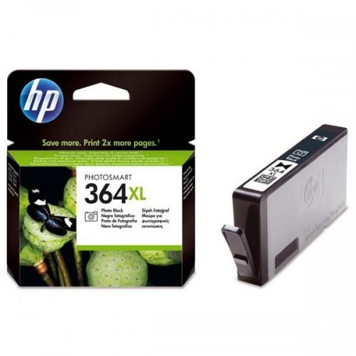 Inkoustová náplň HP No. 364XL, 290 stran, foto černá, originální