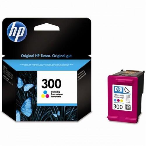 Inkoustová náplň HP No. 300, 4 ml, 165 stran, CMY - originální