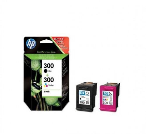 Inkoustová náplň HP No. 300 , 165/200 stran, CMYK originální