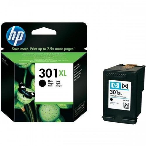 Inkoustová náplň HP No. 301XL, 480 stran - originální - černá