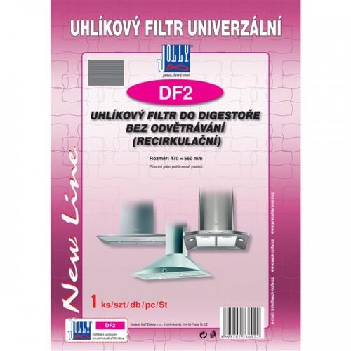 Filtr uhlíkový Jolly DF2 k odsavači s recirkulací