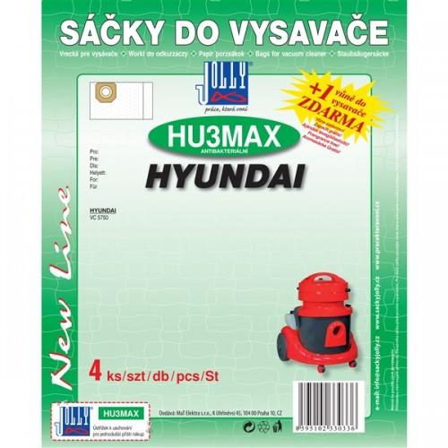Sáčky do vysavače Jolly MAX HU 3 (4ks) pro vysav. Hyundai VC 5750