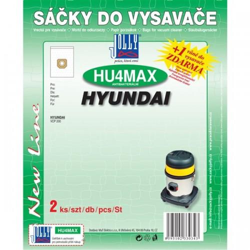 Sáčky do vysavače Jolly MAX HU 4 (2ks) pro vysav. Hyundai VCP 200