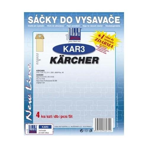Sáčky do vysavače Jolly KAR3 (4ks) do vysav. Karcher
