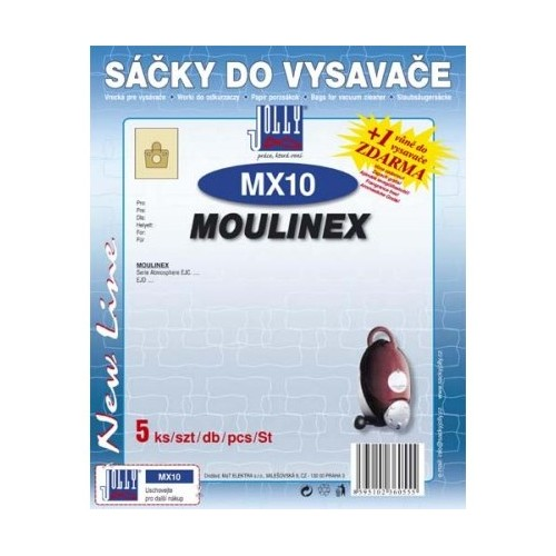 Sáčky do vysavače Jolly MX 10 (5ks) do vysav. MOULINEX