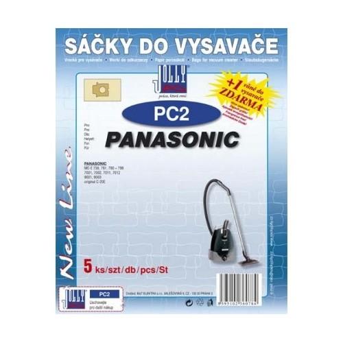 Sáčky do vysavače Jolly PC 2 (5ks) do vysav. PANASONIC