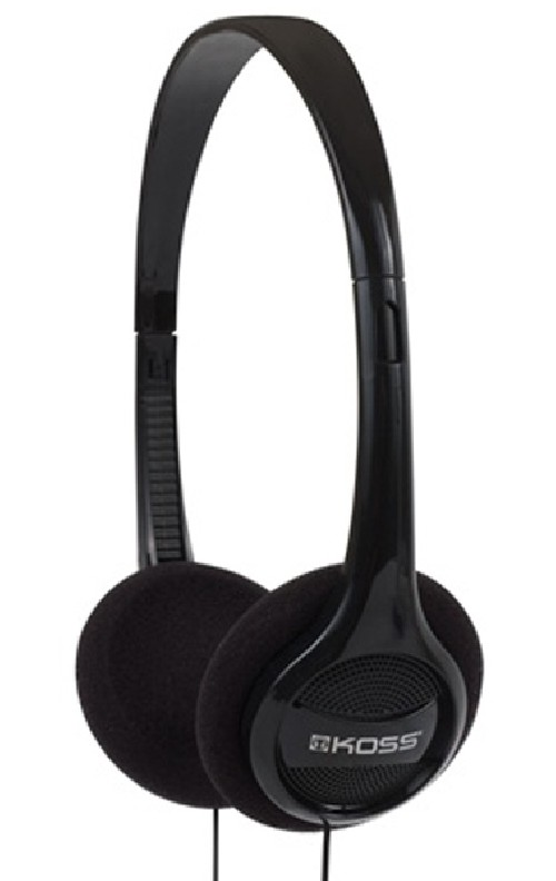 Sluchátka Koss Featherweight KPH/7 (doživotní záruka) - černá