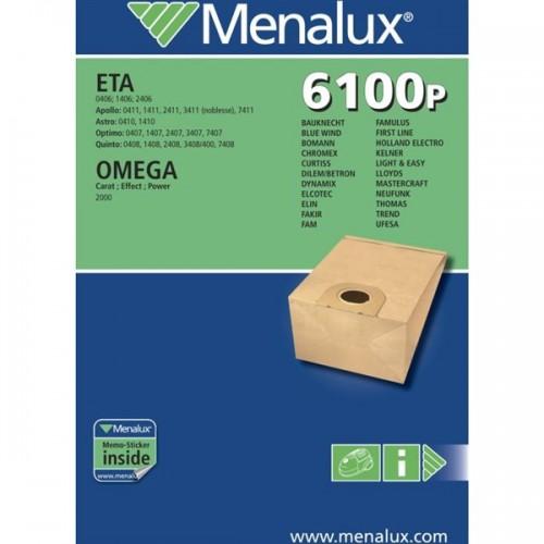 Sáčky do vysavače Menalux CT137E (6100P) do vysav.