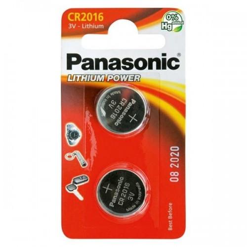 Baterie lithiová Panasonic CR2016, blistr 2ks