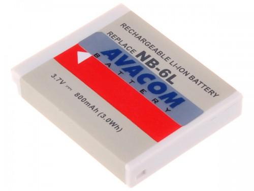 Baterie Avacom Canon NB-6L Li-Ion 3,7V 800mAh