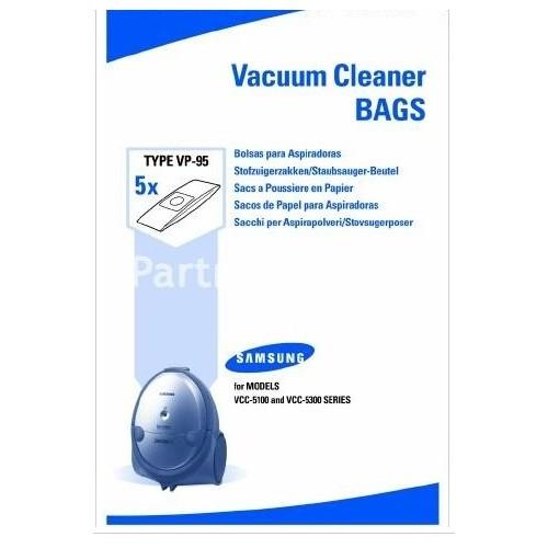 Sáčky do vysavače Samsung VP95 B do vysav. SC7245, SC7210, SC7020, SC5120