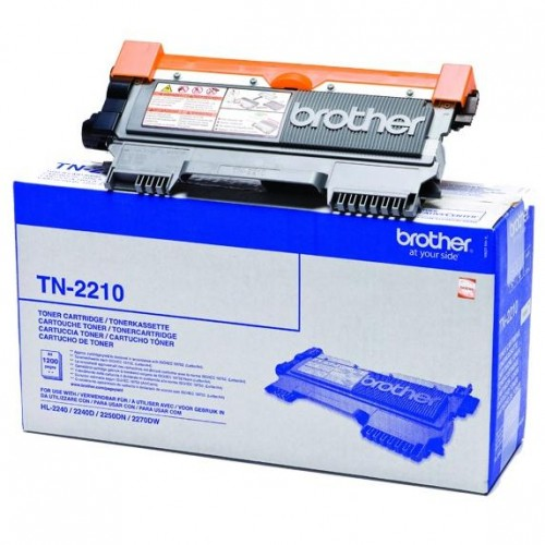 Toner Brother TN-2210, 1200 stran originální - černý