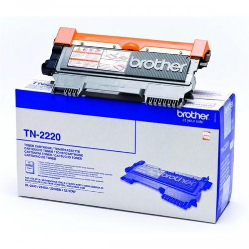 Toner Brother TN-2220, 2600 stran originální - černý