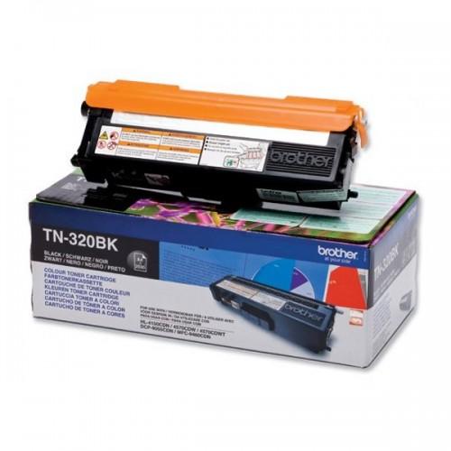 Toner Brother TN-320BK, 2500 stran originální - černý