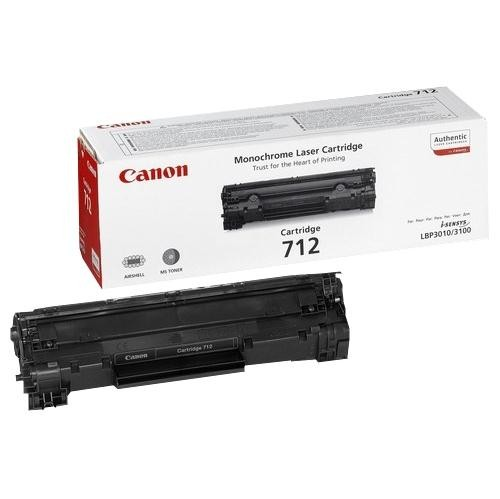 Toner Canon CRG-712, 1,5K stran originální - černý