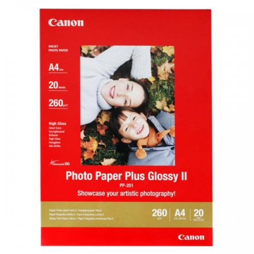 Fotopapír Canon PP201 A4, 260g, 20 listů