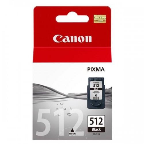 Inkoustová náplň Canon PG-512Bk, 400 stran, originální - černá