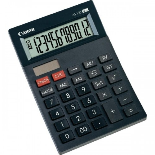 Kalkulačka Canon AS-120 - černá
