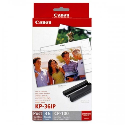 Fotopapír Canon KP36IP,10x15 cm, 36 listů pro Selphy