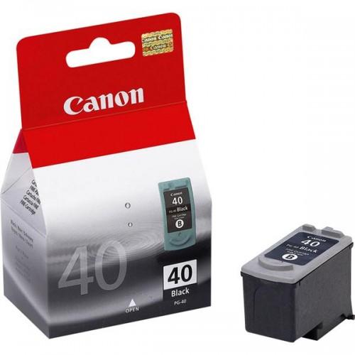Inkoustová náplň Canon PG40, 615 stran, originální - černá