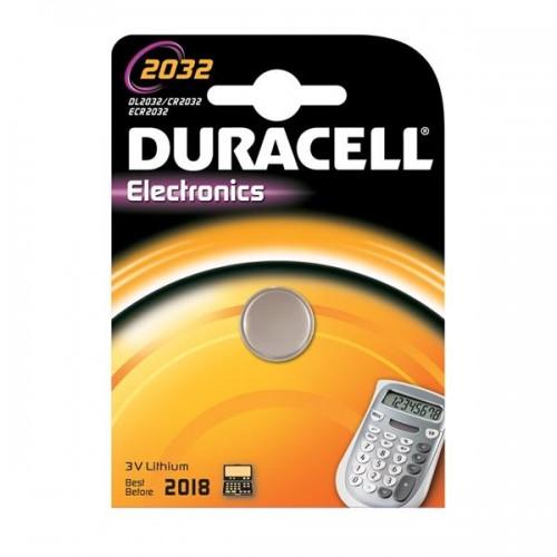 Baterie lithiová Duracell CR2032, blistr 1ks