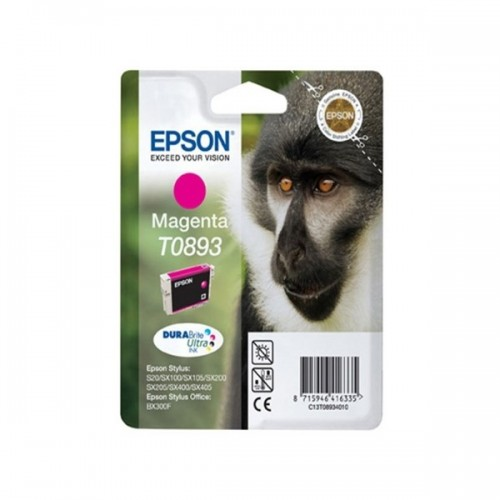 Inkoustová náplň Epson T0893, 3,5ml  originální - červený