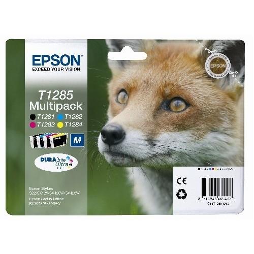 Inkoustová náplň Epson T1285, 16,4ml originální - CMYK