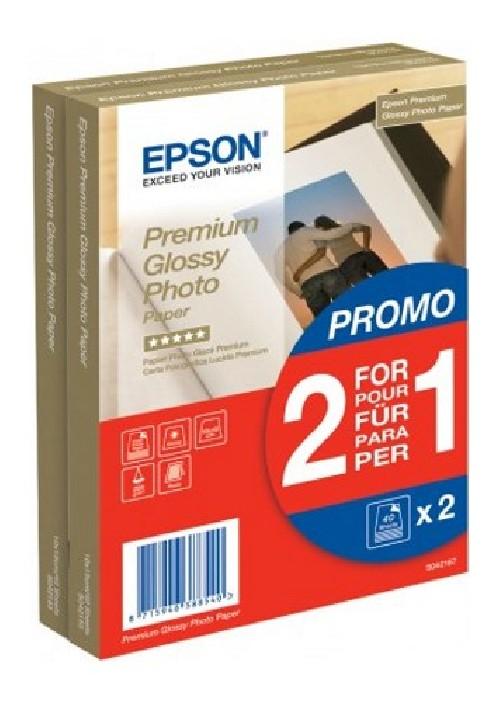 Fotopapír Epson Premium Glossy Photo 10x15, 225g, 80 listů