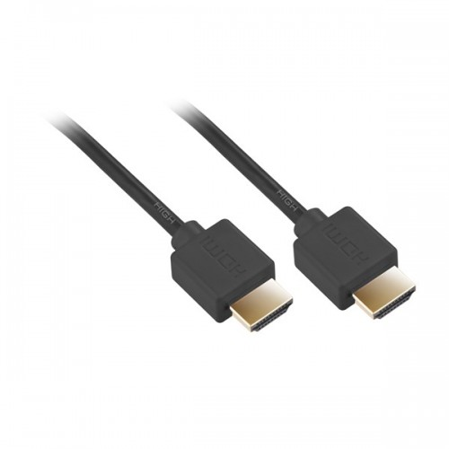 Kabel GoGEN HDMI 1.4, 5m, pozlacený, High speed, s ethernetem